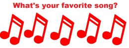 We want to know you favorite song! So tell us…