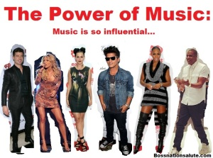 Music is so influential...