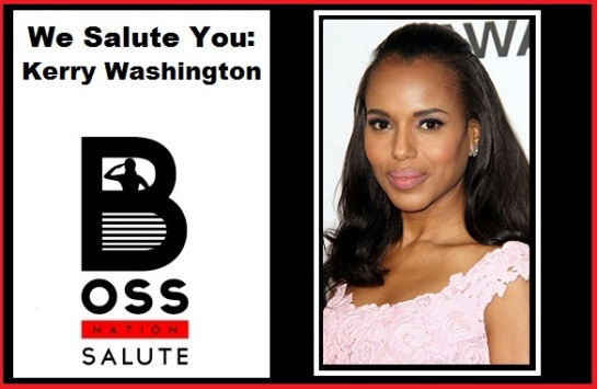 Actress Kerry Washington