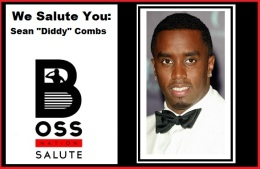 "We salute you, Sean ""Diddy"" Combs (Salute Wednesdays)"